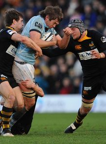 Wasps v Leicester Geoff Parling