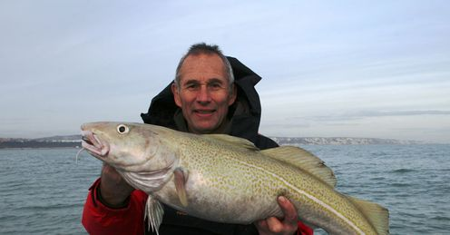 Bother-some: Nigel landed the lion's share of cod caught