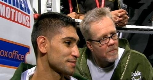 Khan and Roach: should cope with better foes in the States