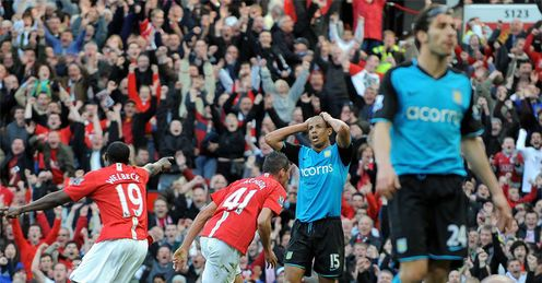 Macheda: turns the title race in United's favour with THAT goal
