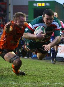 Aaron Mauger marks his return