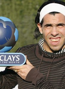 Tevez scoops award