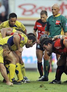 Clermont Toulon scrum