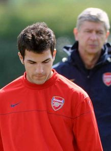 Cesc wants out of Arsenal