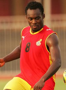 Essien joins Ghana squad
