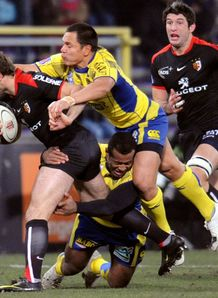 Vincent Clerc held against Clermont