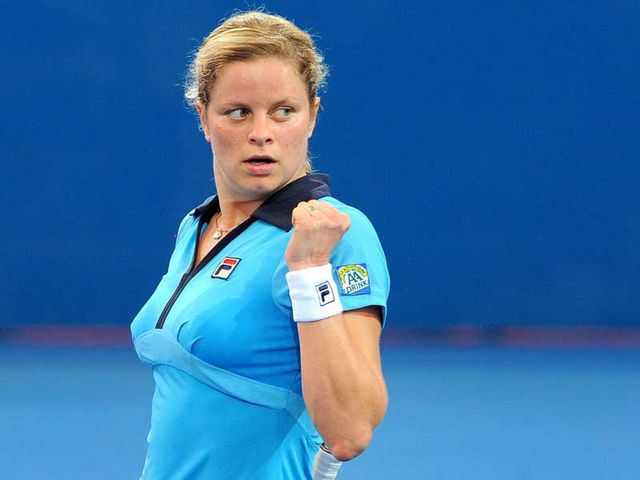 Clijsters - back for more.