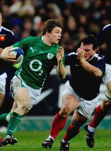 SKY_MOBILE Brian ODriscoll Ireland v France