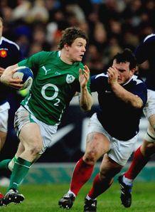 SKY_MOBILE Brian ODriscoll Ireland v France