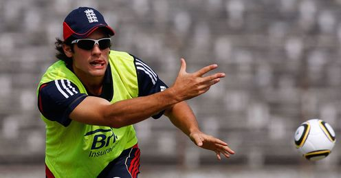 Having a ball: Cook's captaincy has a chance to shine in Strauss' absence