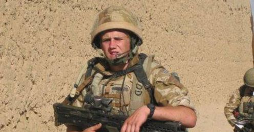 Rifleman and Tigers fan James Backhouse, who died in Afghanistan last July