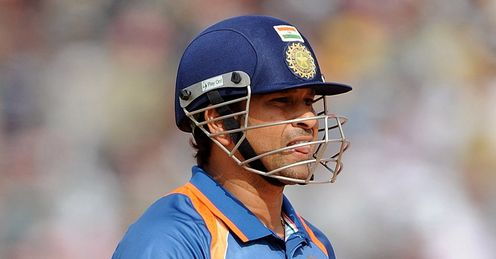 Tendulkar: historic knock