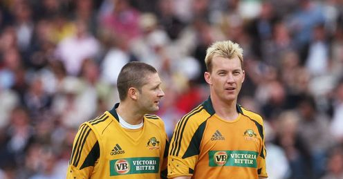 Clarke (left): Captains Australia in T20 cricket