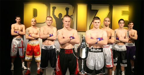 Prizefighters: the eight men fighting it out for �32,000