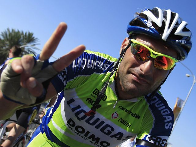 Francesco Chicchi bagged his second victory of the week