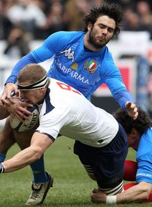 SKY_MOBILE Harinordoquy scores France v Italy Six Nations