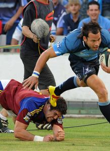 Francois Hougaard against Highlanders in Pretoria