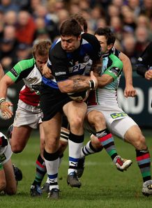 Matt Banahan break against Harlequins