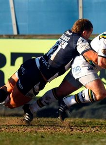 Saints pile misery on Sharks