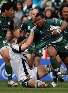 Steffon Armitage London Irish Sale Sharks