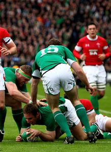 Tomas O Leary score against Wales