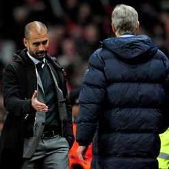 Pep and Wenger: Surprise, surprise