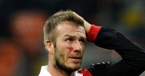 Beckham: World Cup dream over