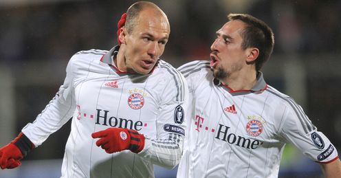 Robben and Ribery: key men for Bayern