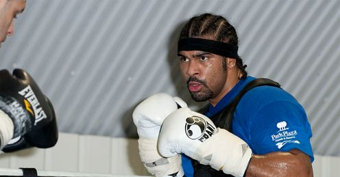 Haye: has the perfect chance to send a statement out, says Jim