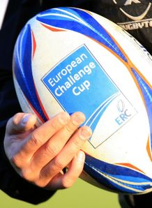 European Amlin Challenge Cup ball