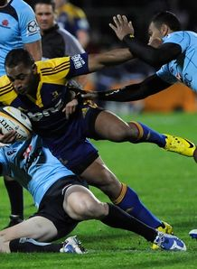 Fetu Vainikolo brought down against Waratahs