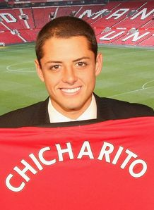 Javier &quot;Chicharito&quot; Hernandez Manchester United
