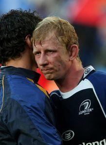 Leo Cullen Leinster hugger