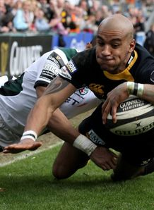 Tom Varndell Wasps London Irish