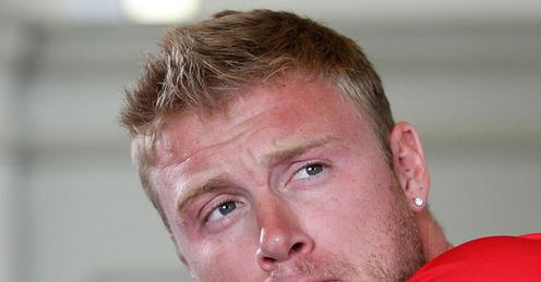 Flintoff: wants to play for Lancs again