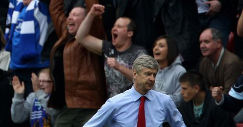 Dejected Wenger looking to bounce back