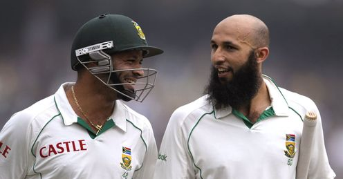 Big hitters: but are overseas players like Ashwell Prince and Hashim Amla good for county cricket?