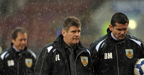 Brian Laws Turf Moor Burnley Man City Premier League rain