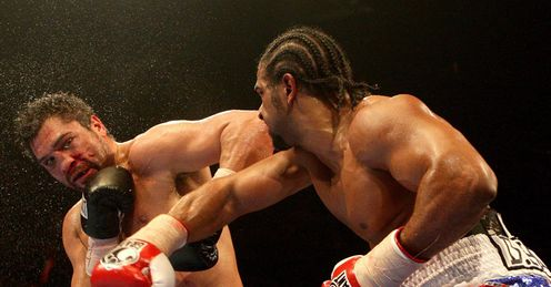 Haye: proved his heart and stamina against Ruiz