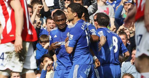 Chelsea: smashed Stoke for seven