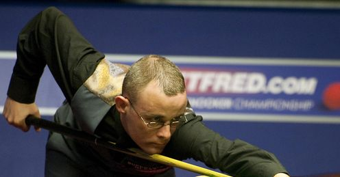 Gould: Won the Snooker Shoot-Out 2013 title