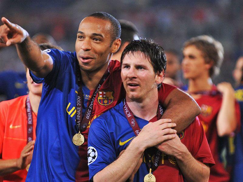 Henry contó la jugada imposible de Messi que nunca se grabó