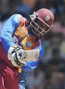 Gayle reigns over India