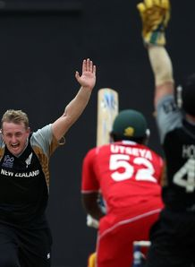 Kiwis safely through