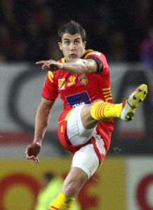 Perpignan full back Jerome Porical SF