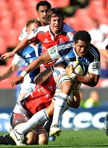 Peter Saili against the Lions
