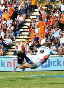 Sarel Pretorius 2nd try welkom