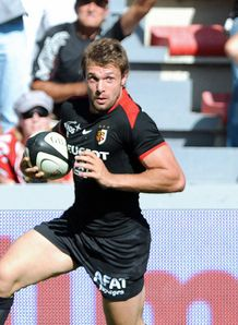 Vincent Clerc Toulouse black 2009 2010