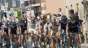 Team Sky put in a strong performance on stage 18 of the Giro
