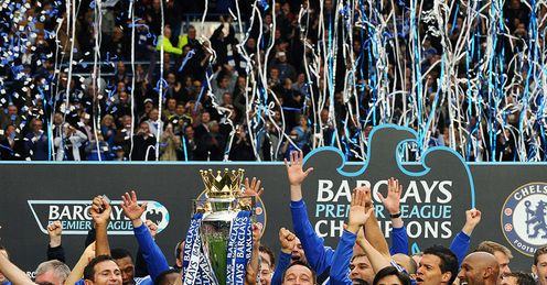 Chelsea Premier League Title Celebrations